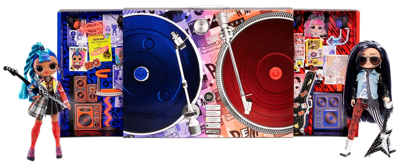 MGA L.O.L. Surprise! OMG Remix Dwupak Punk Grrrl Rrocker Boi