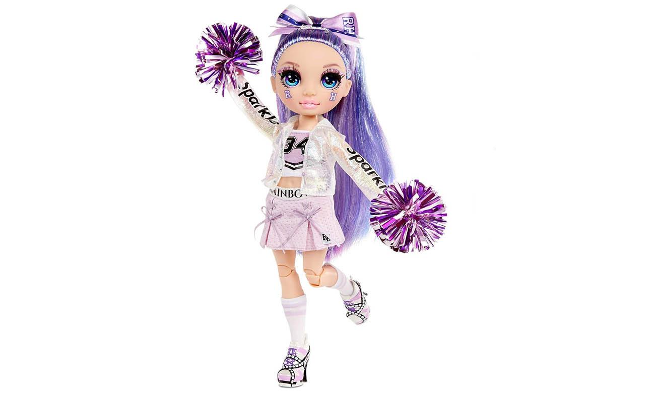 MGA Rainbow High Cheer Doll Violet Willow
