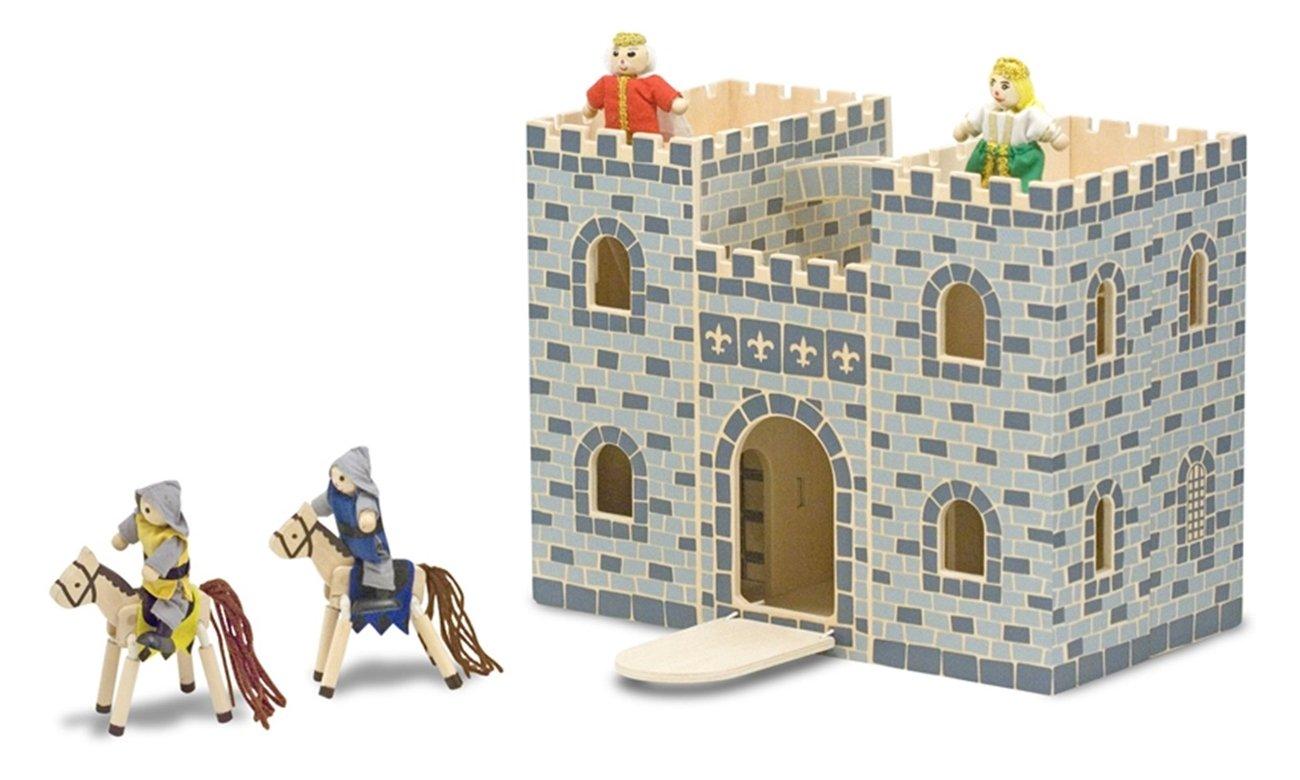Melissa & Doug Przenośny składany zamek
