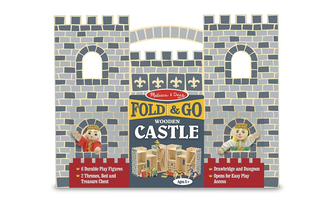 Mobilny przenośny zamek dla lalek Melissa and Doug 13702