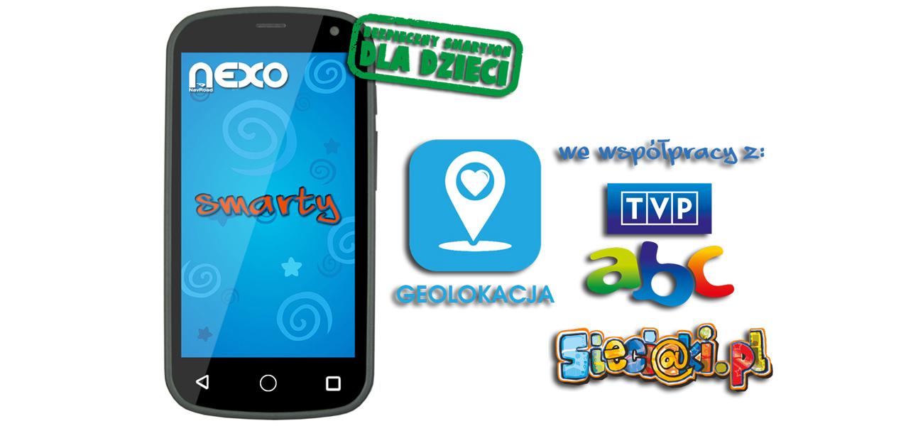 Zabawka edukacyjna NavRoad NEXO Smarty niebieski 742333 telefon dla dziecka