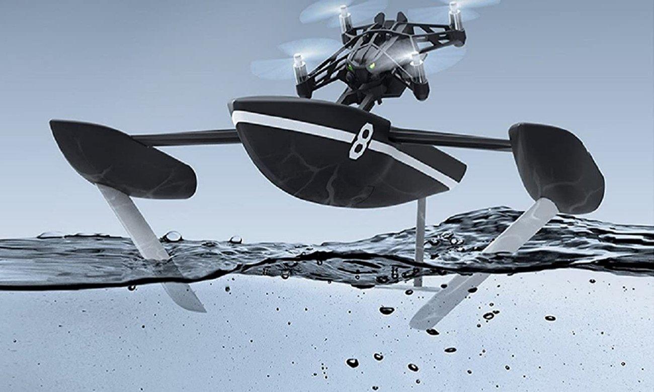 dron 2 w 1 latający i pływający