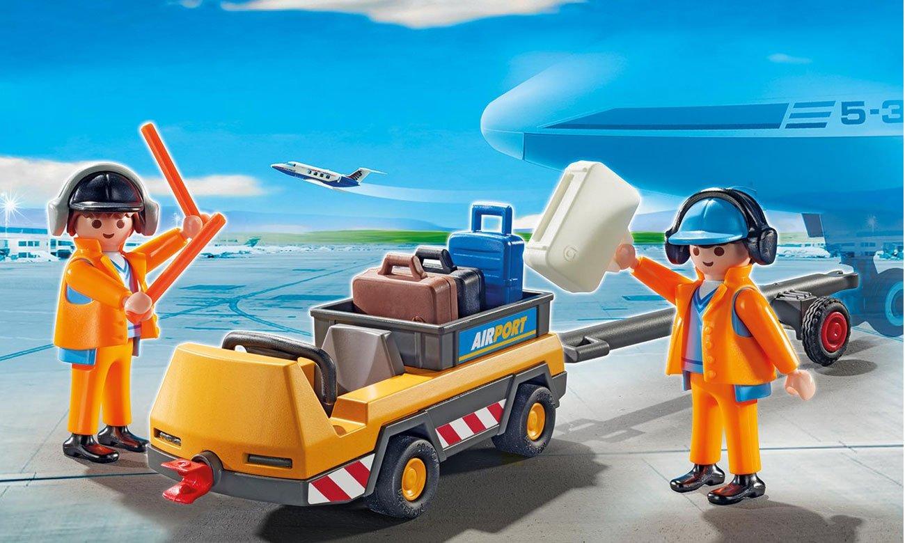 Playmobil holownik samolotu