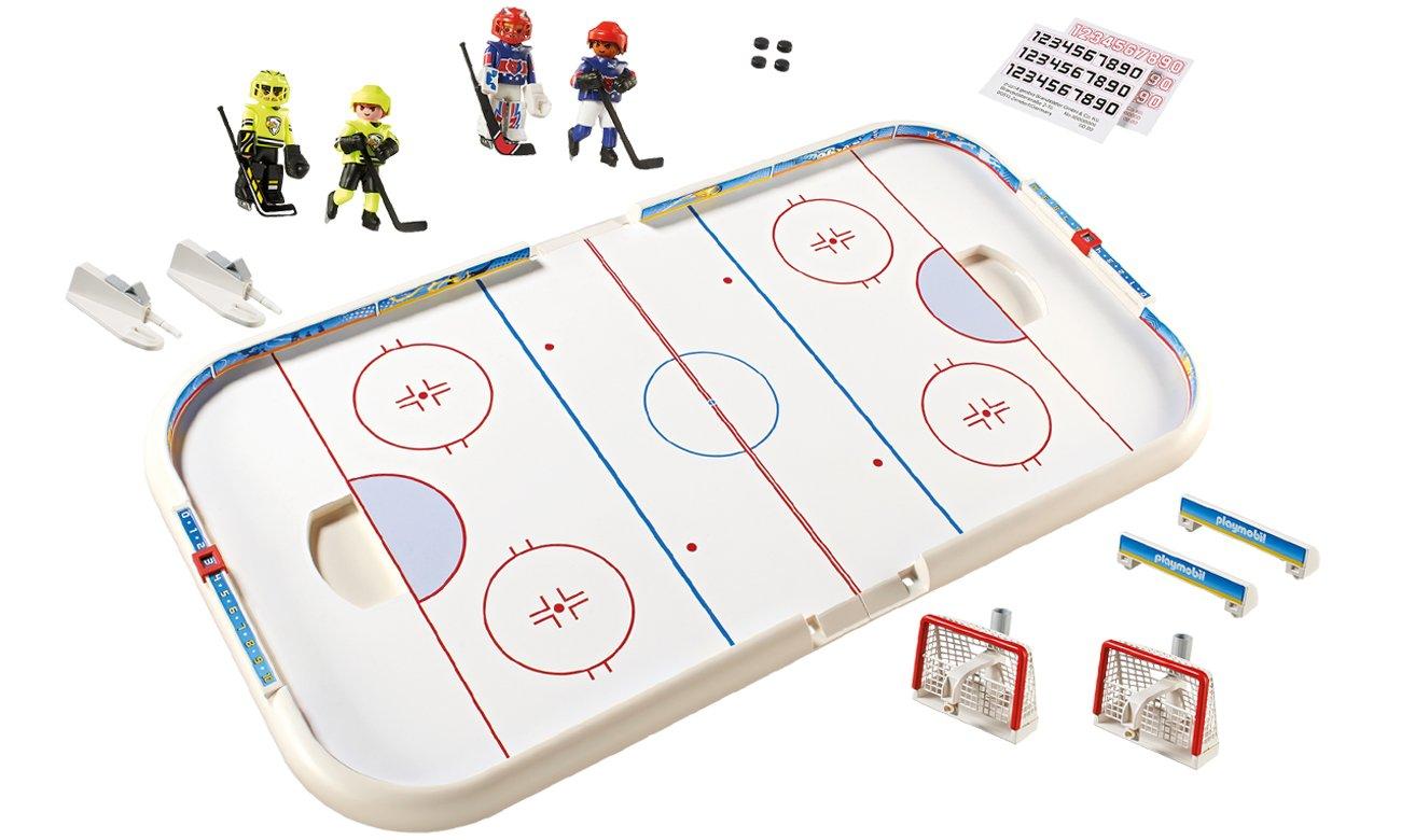 Zawartość zestawu PLAYMOBIL® Arena hokejowa 5594