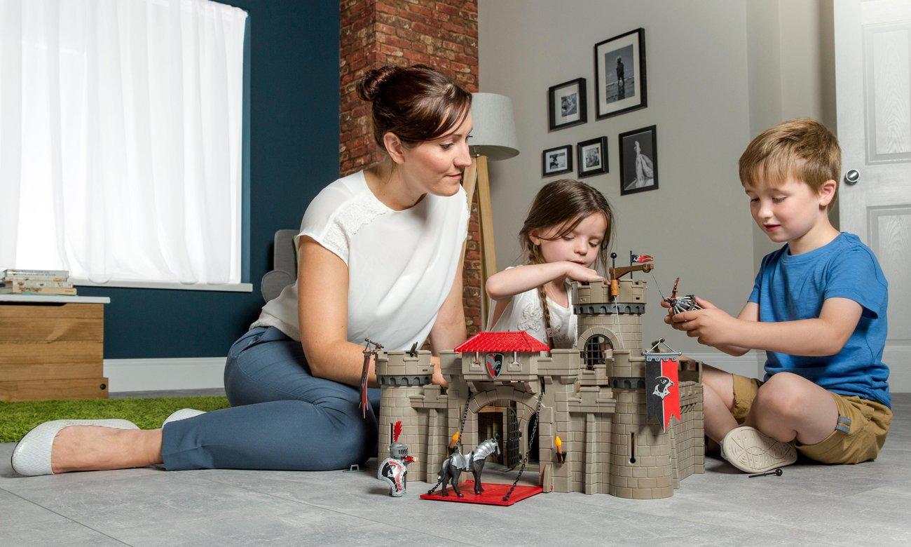 playmobil lego zamek rycerski