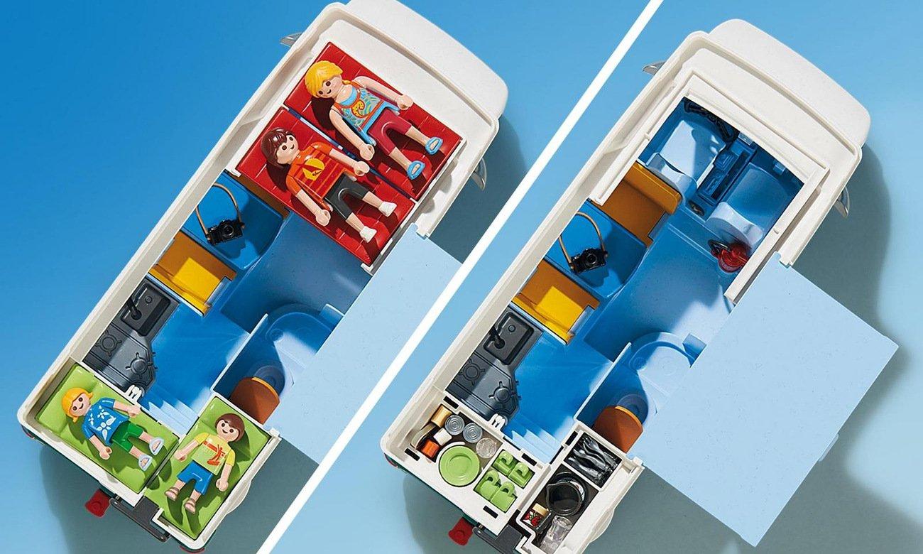 Playmobil - Rodzinne auto kempingowe 6671