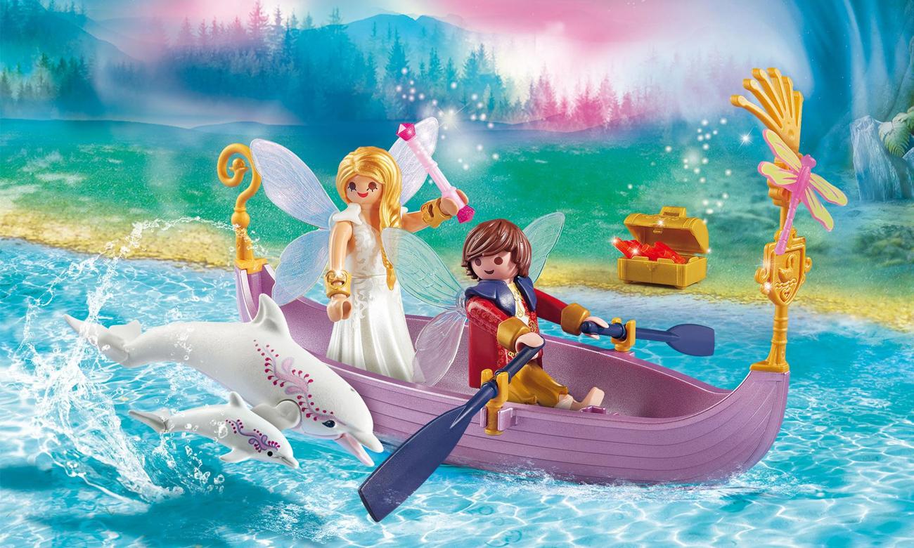 PLAYMOBIL Romantyczna łódka wróżek