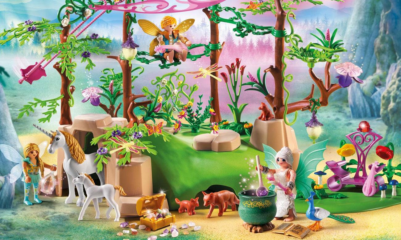 Magiczny las wróżek playmobil