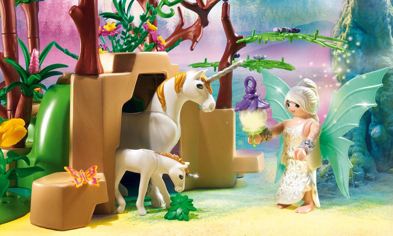 playmobil las z wróżkami dla dziewczynki