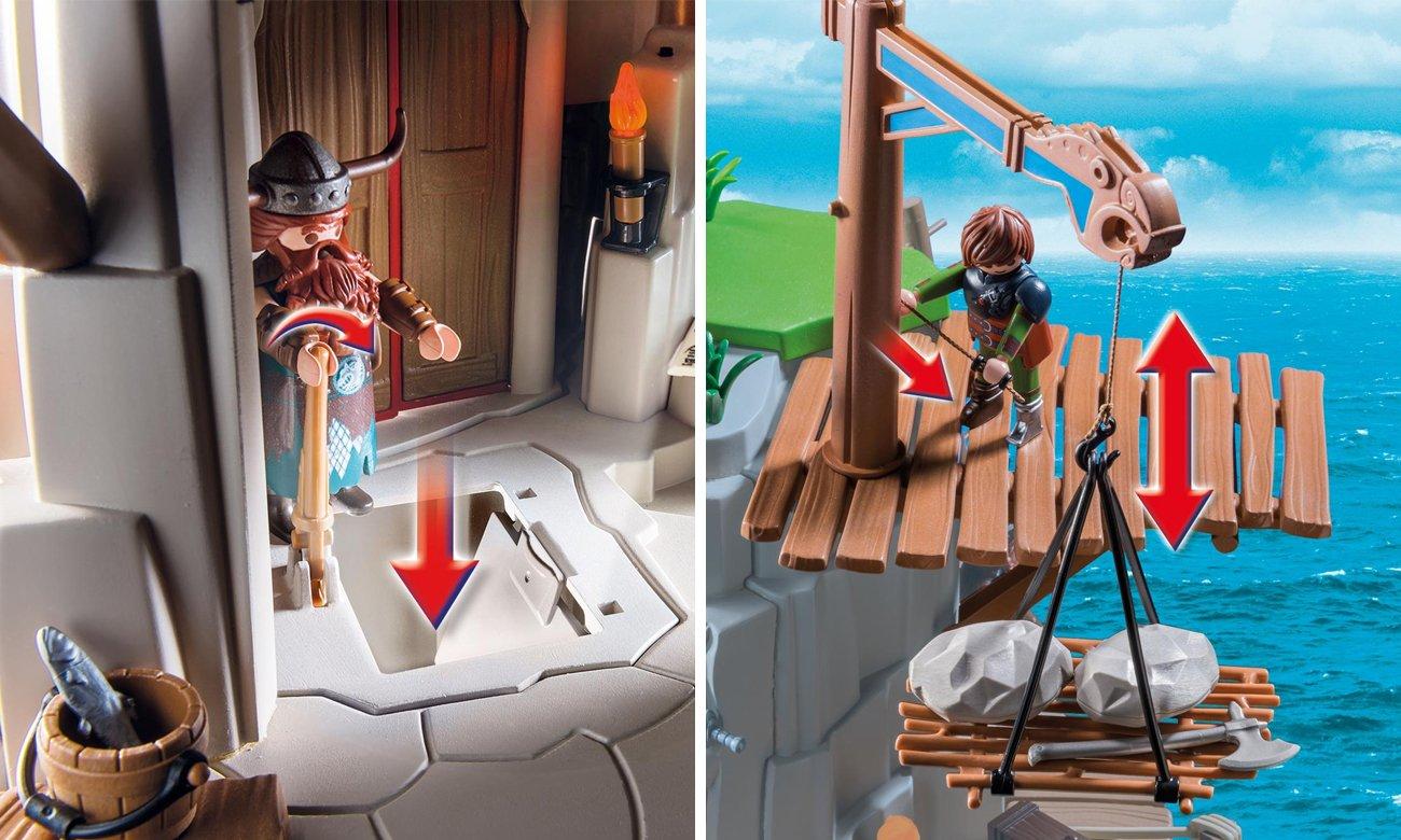 playmobil jak wytresować smoka