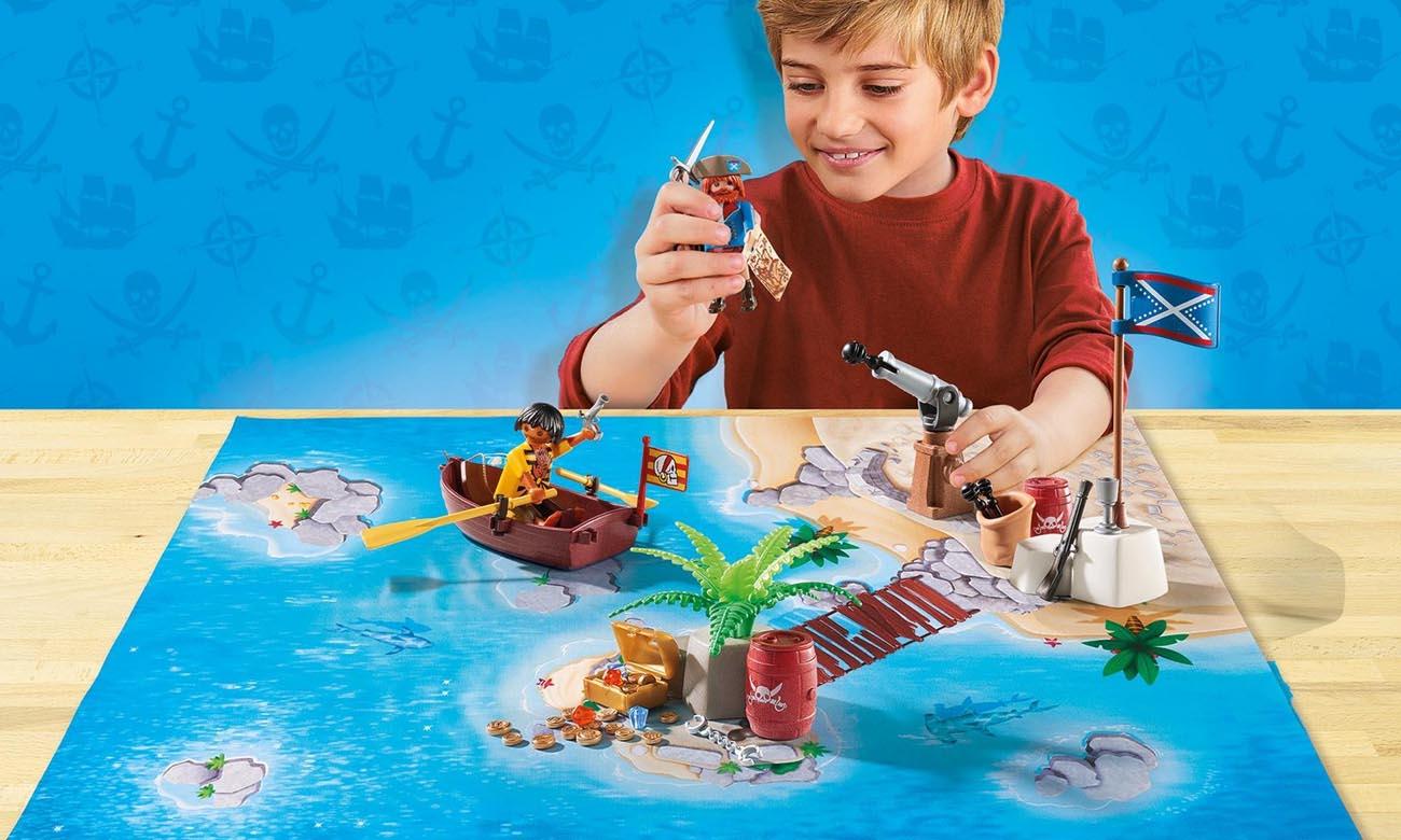 PLAYMOBIL® Play Map Piraci 9328