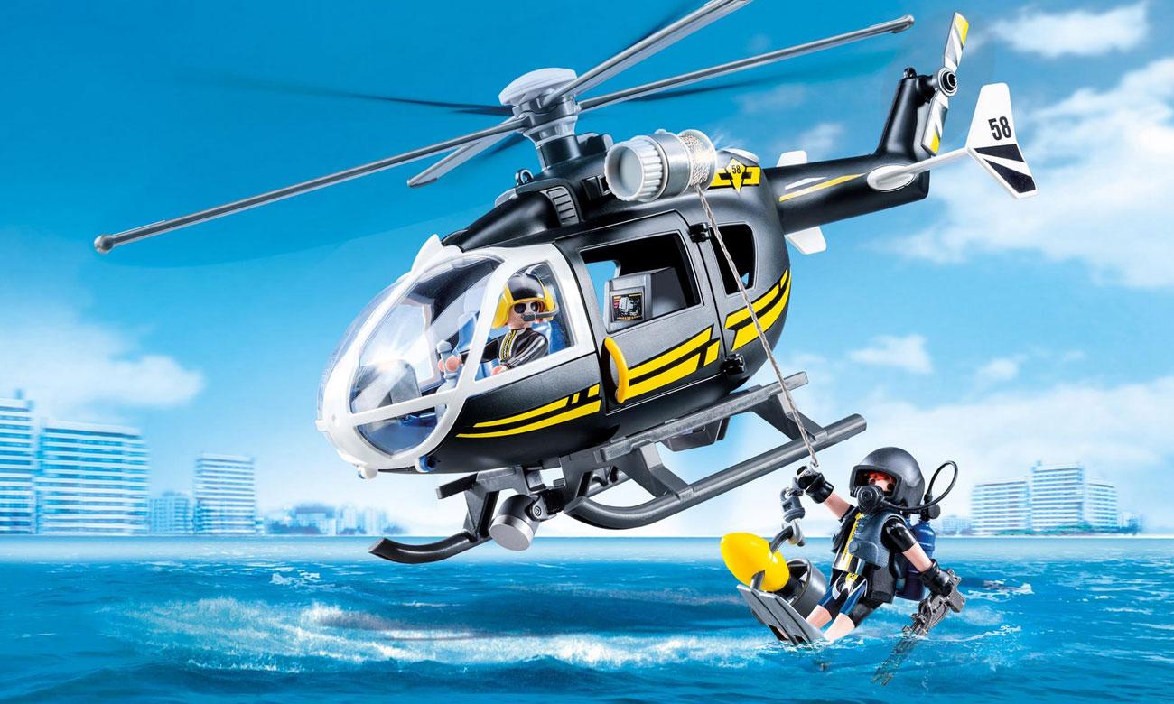 PLAYMOBIL® Helikopter jednostki specjalnej 9363