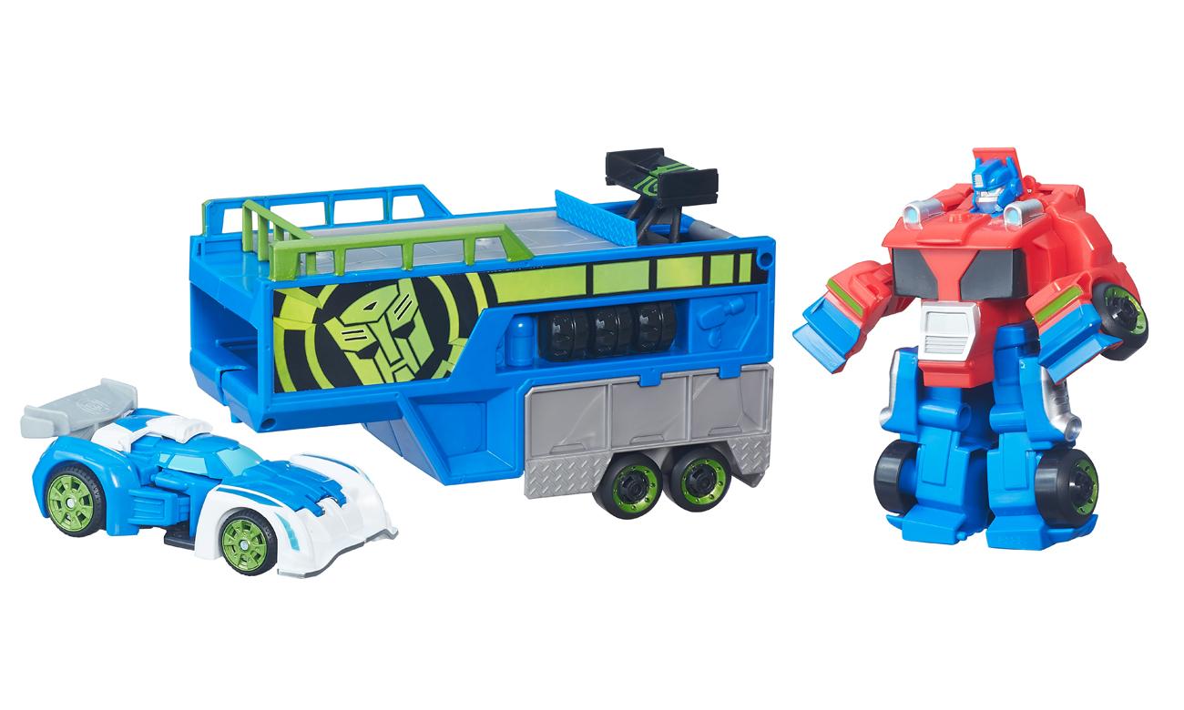 transformers duży zestaw playskool