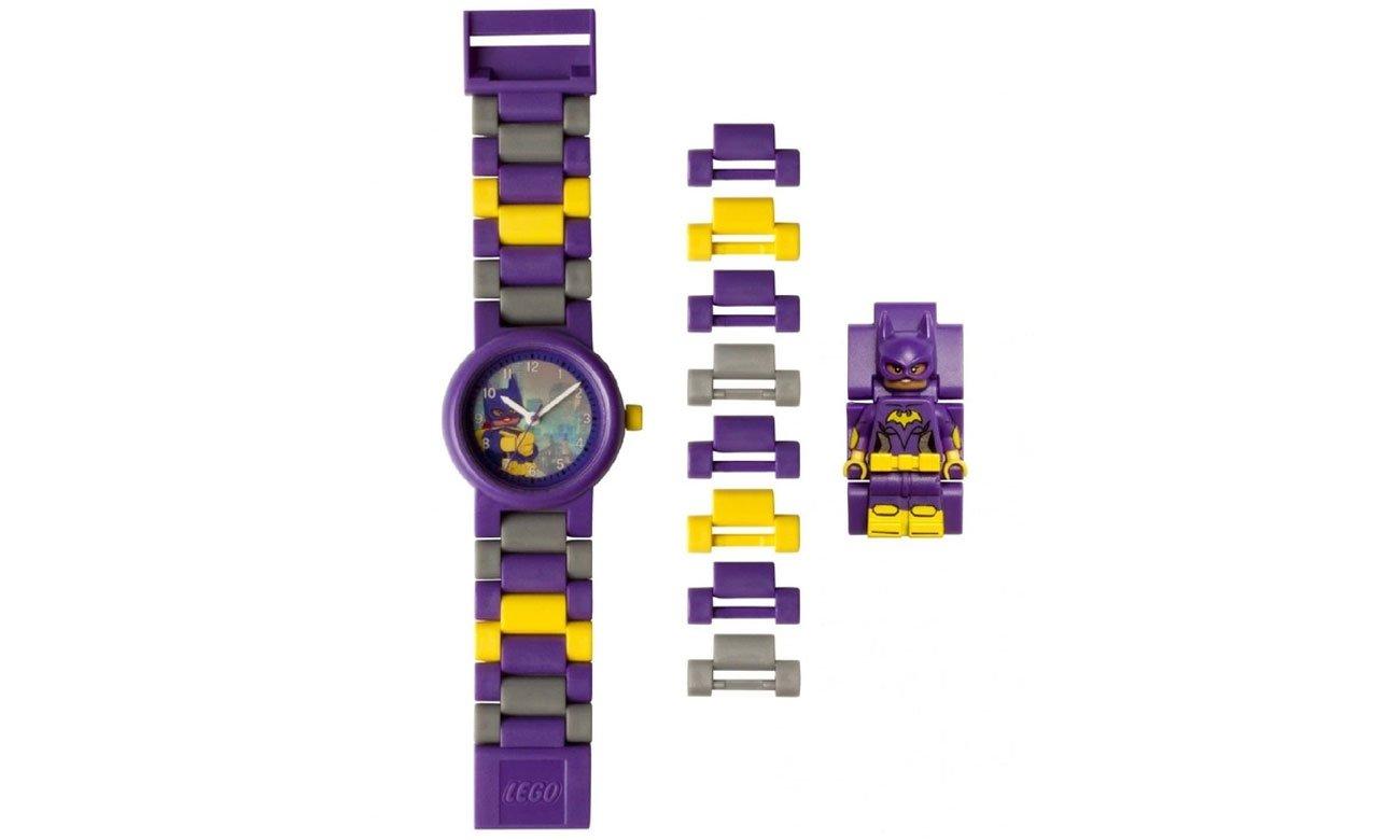 POLTOP LEGO 8020844 Zegarek Batman Movie z Batgirl