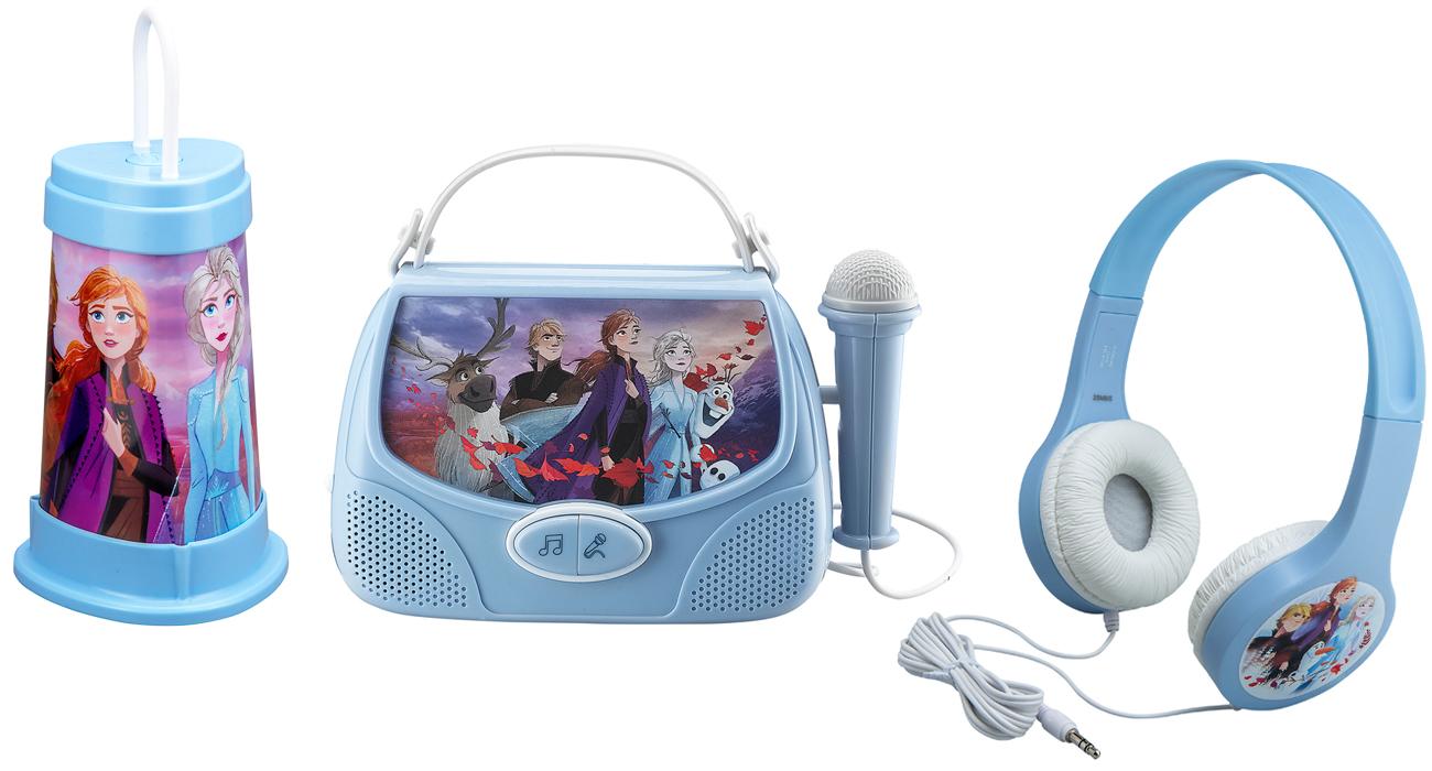 Panda eKids Disney Frozen 2 Zestaw 3w1 karaoke