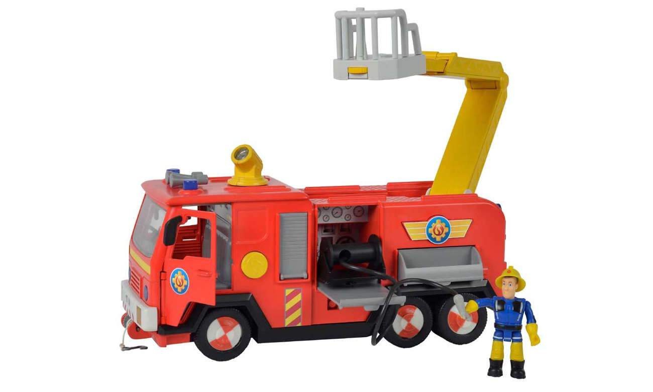 Simba Strażak Sam Wóz strażacki Jupiter
