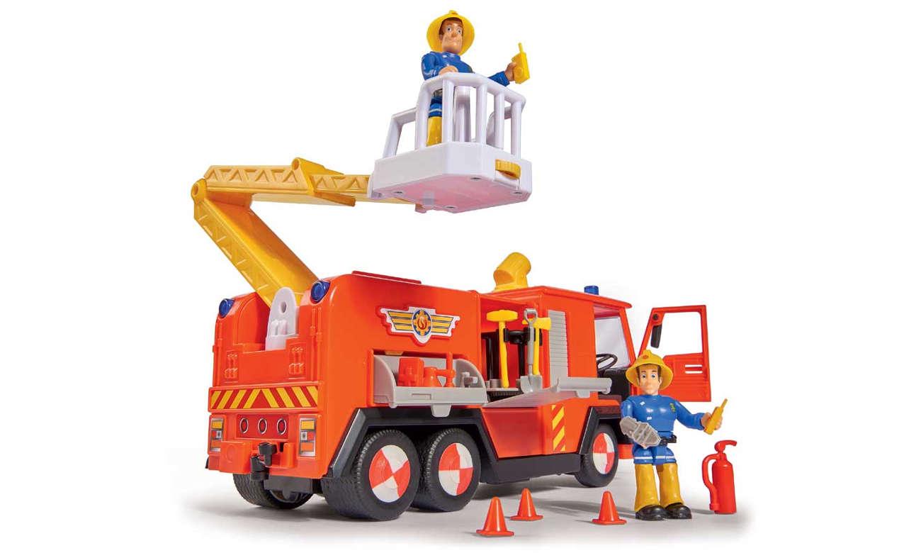 Strażak Sam Wóz strażacki Jupiter z figurkami