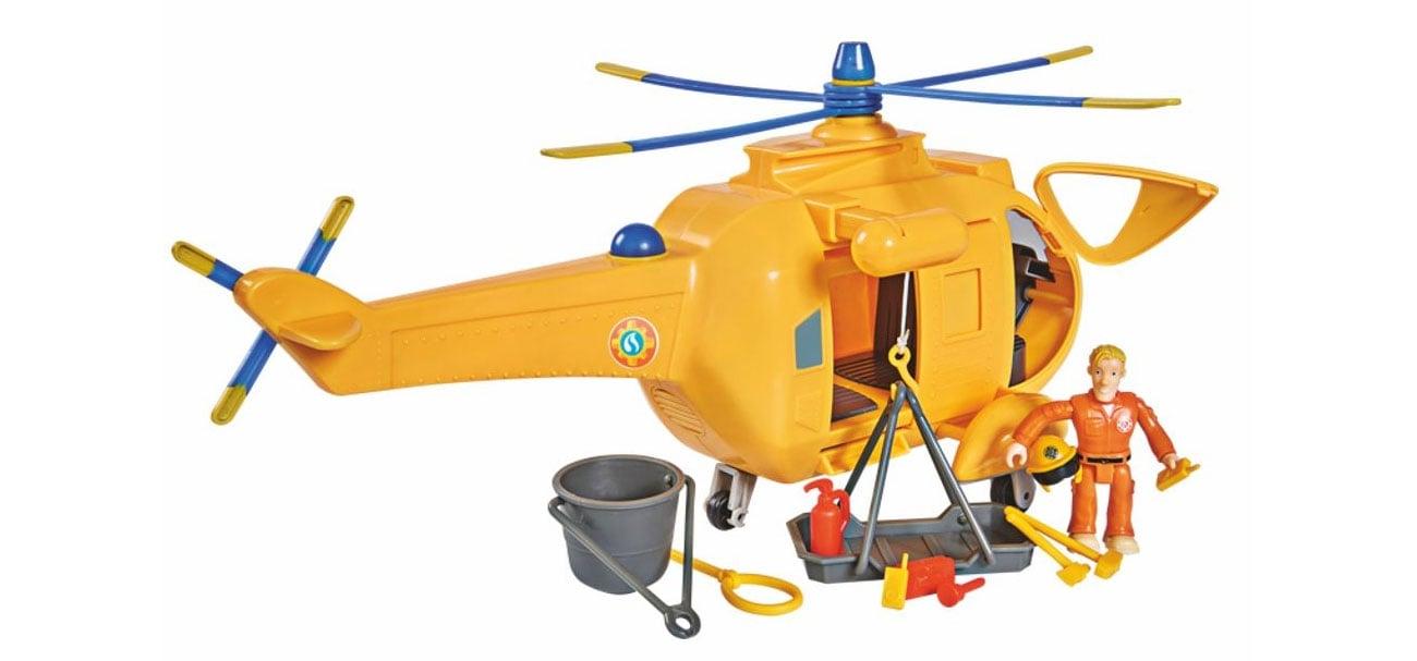 Simba Strażak Sam helikopter Wallaby 2 z figurką