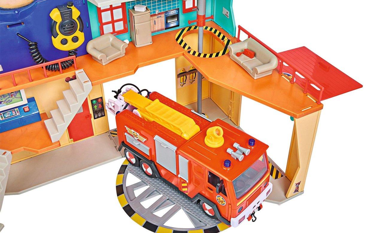 strażak sam zestaw remiza strażacka