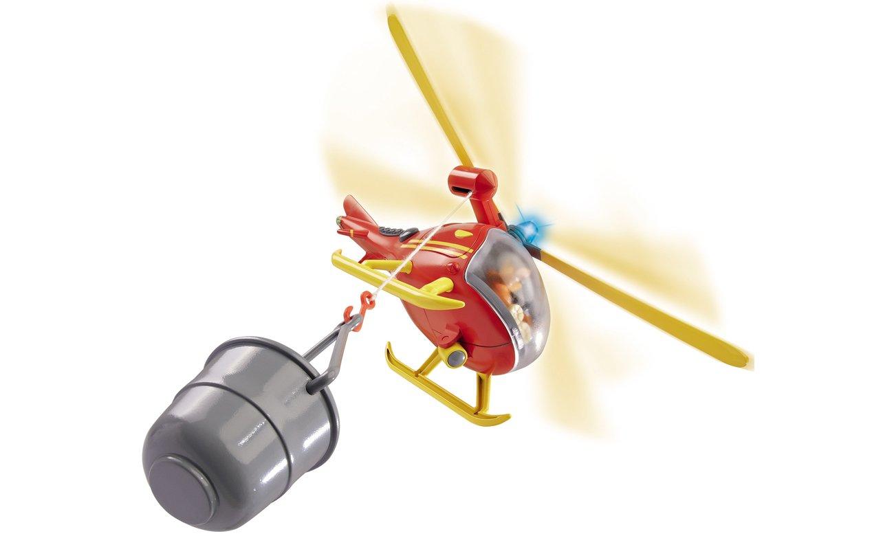 Simba Strażak Sam Helikopter ratunkowy z figurką