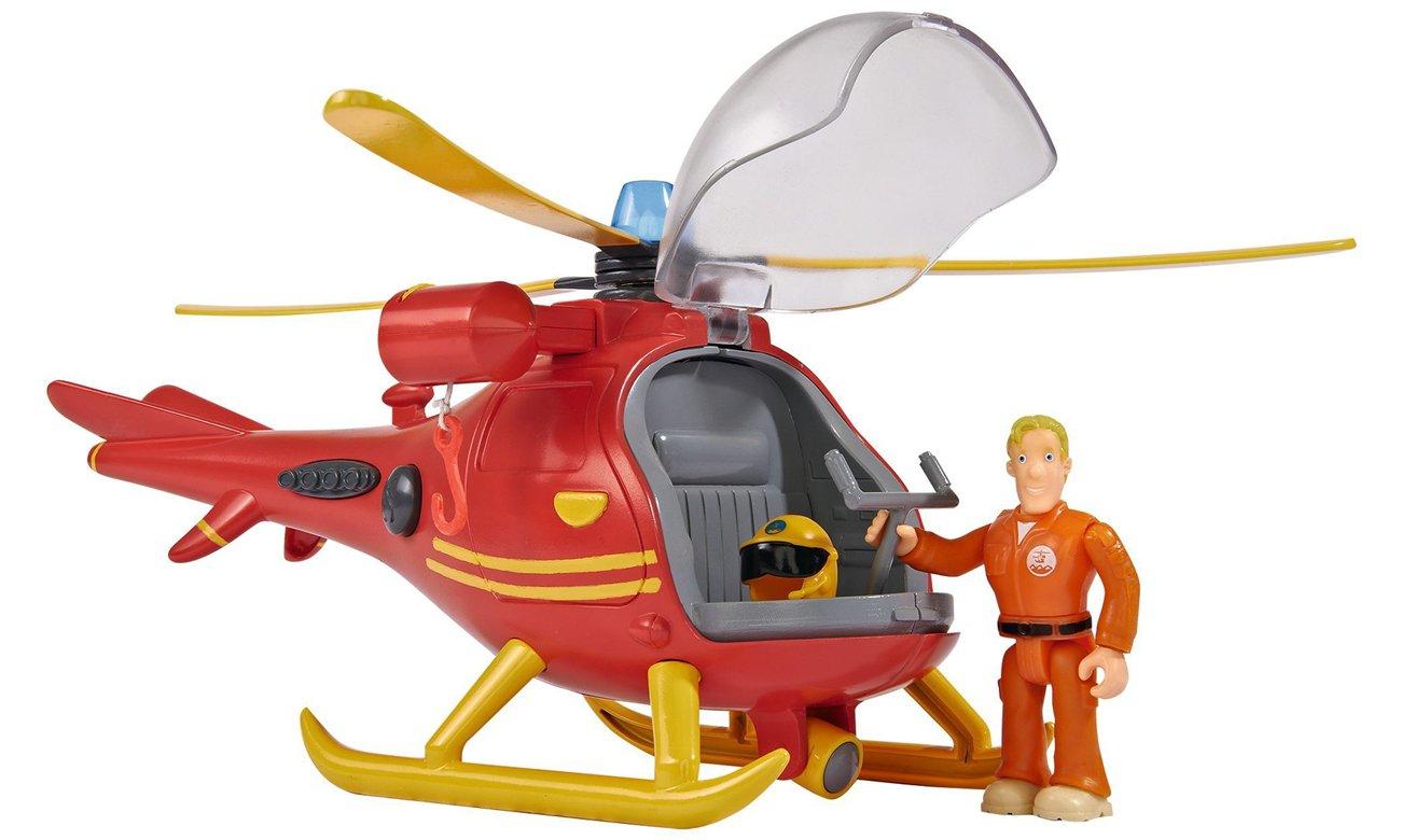 simba strażak sam helikopter