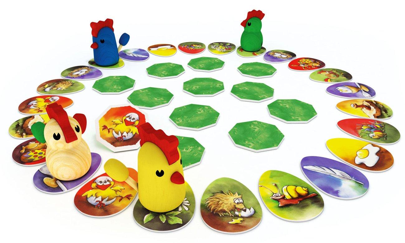 gra dla dzieci skubane kurczaki