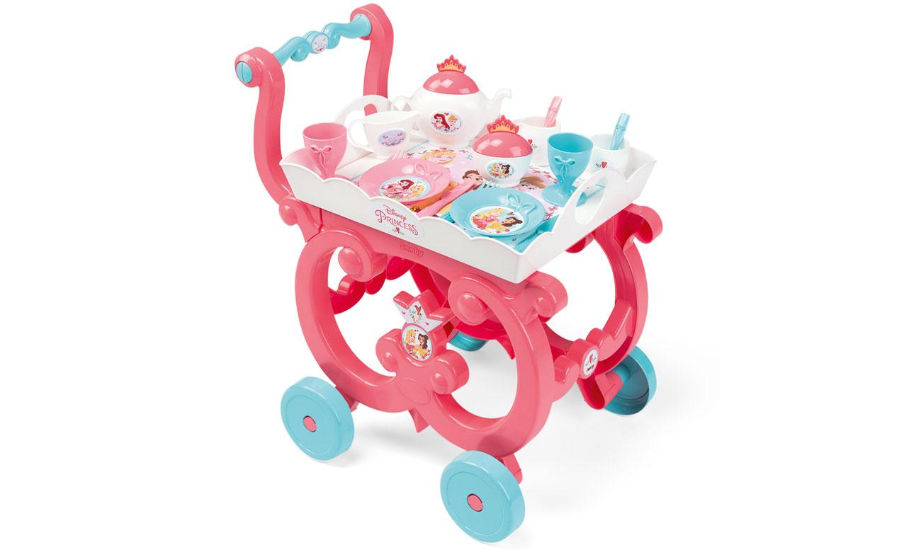 Disney Princess Wózek z zastawą