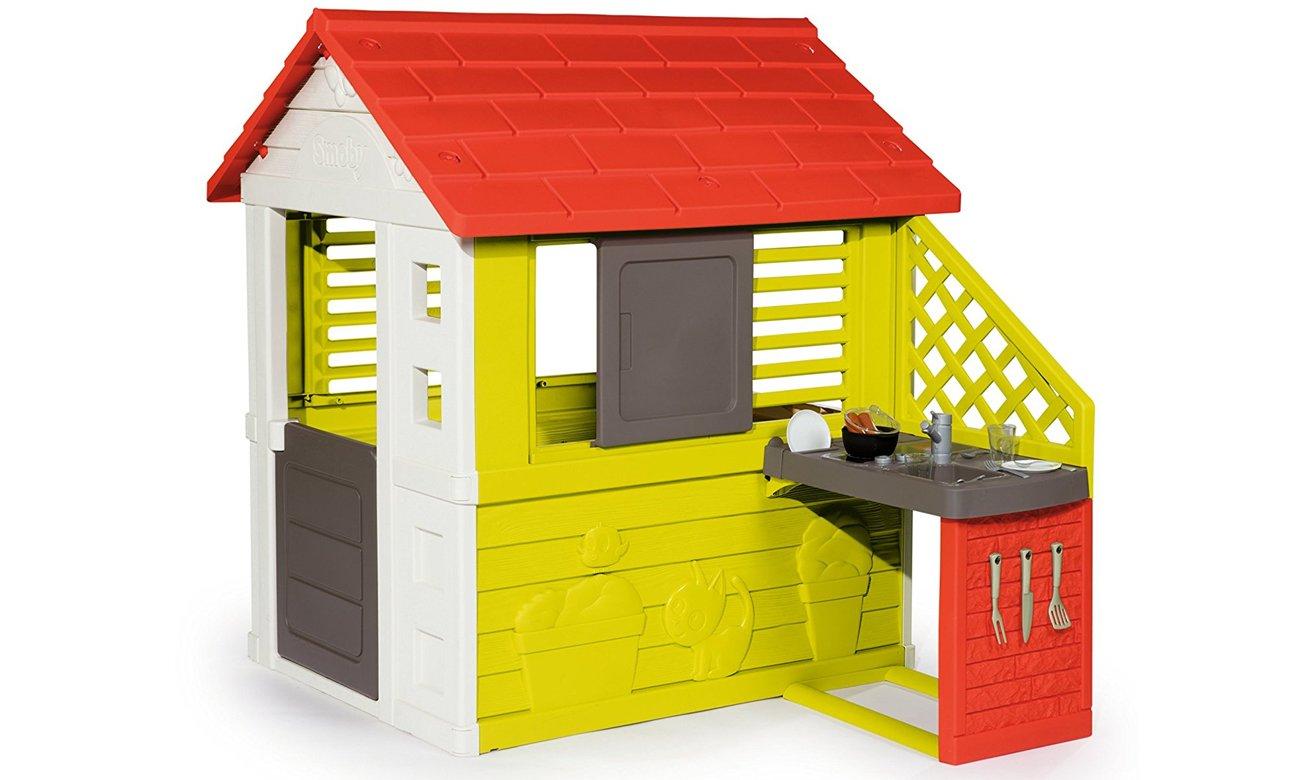 plastikowy domek dla dzieci