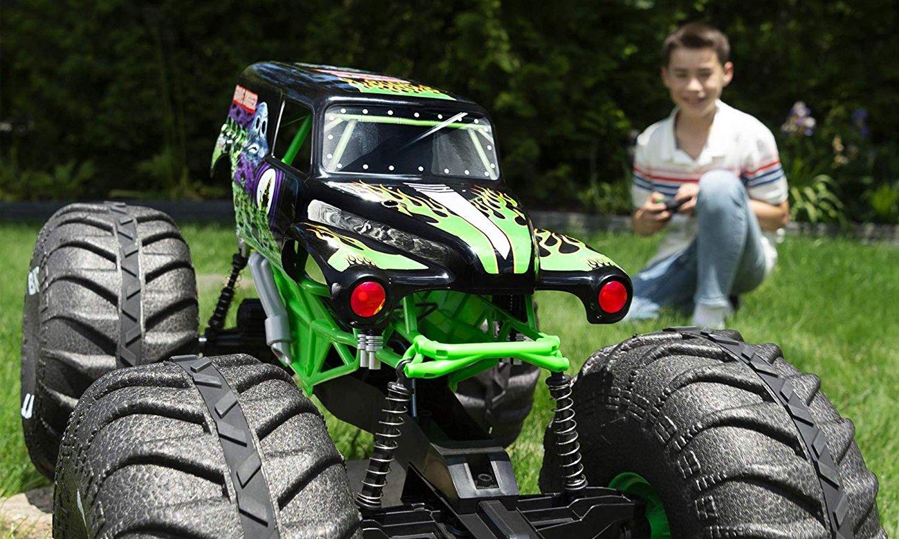 monster jam monster truck pojazdy wyścig