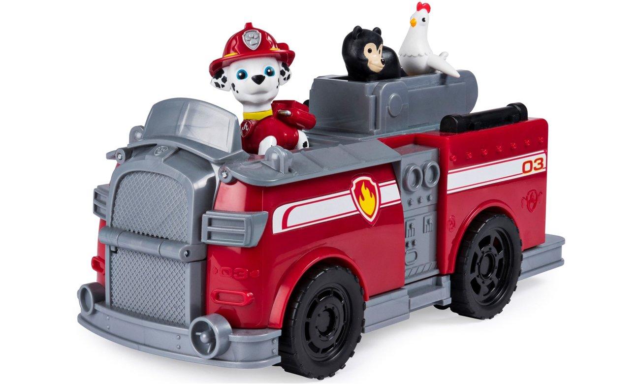 Spin Master Psi Patrol Transformujący wóz strażacki Marshall