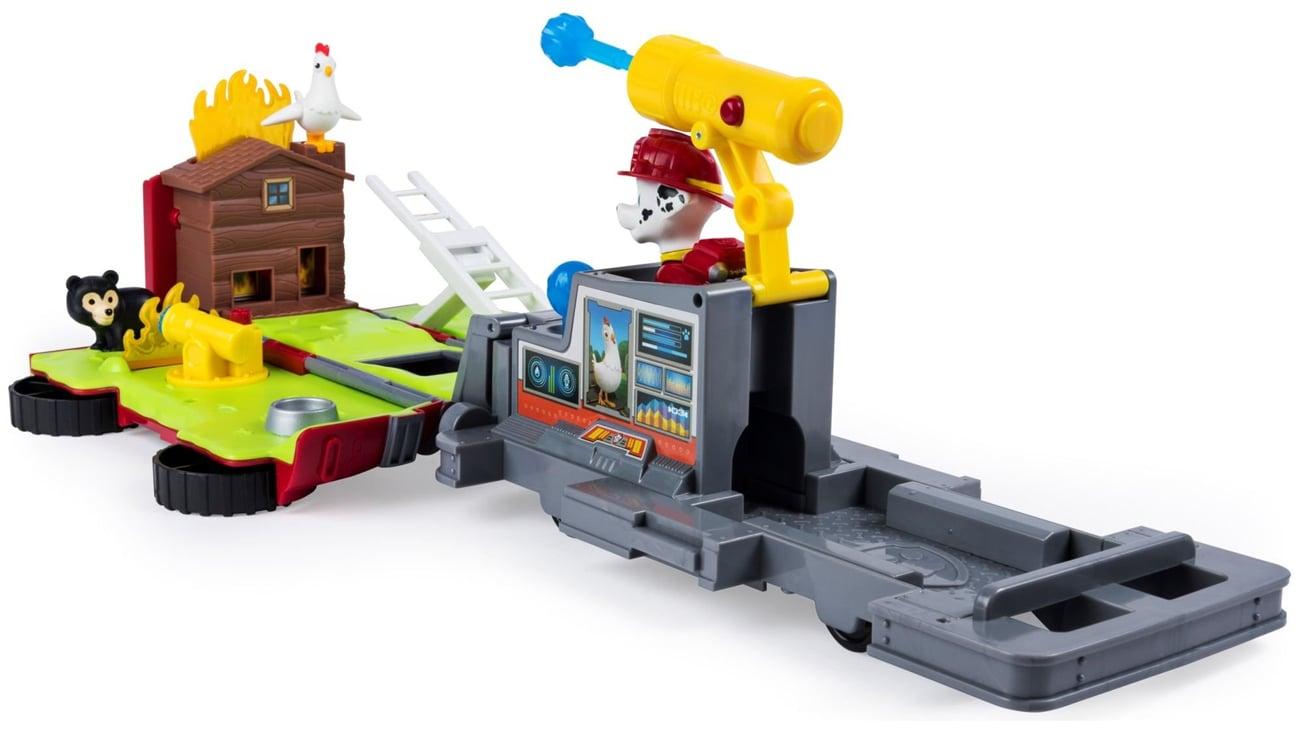psi patrol wóz strażacki z figurką