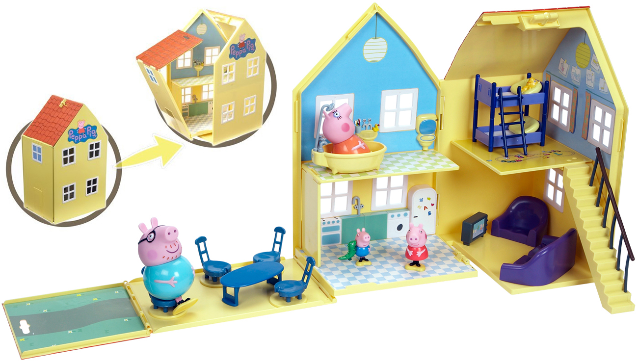 TM Toys Świnka Peppa Domek deluxe
