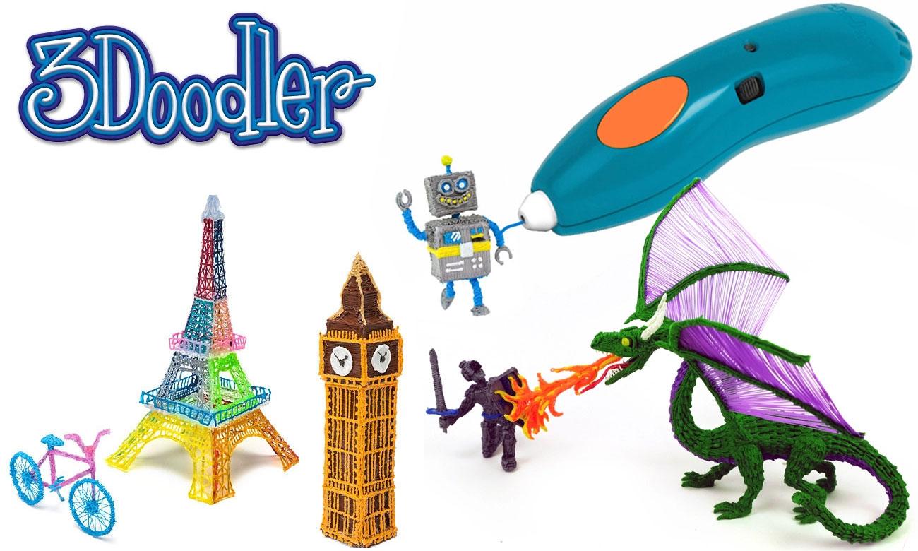 Zabawa kreatywna z TM Toys 3DOODLER