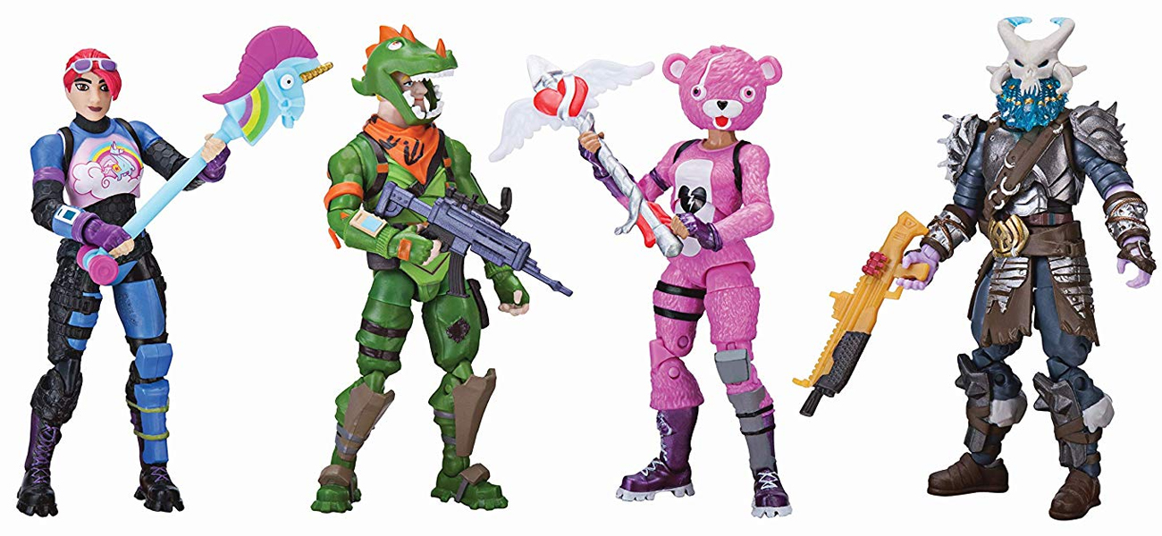 TM Toys Fortnite Squad Mode Figurki 4-pak