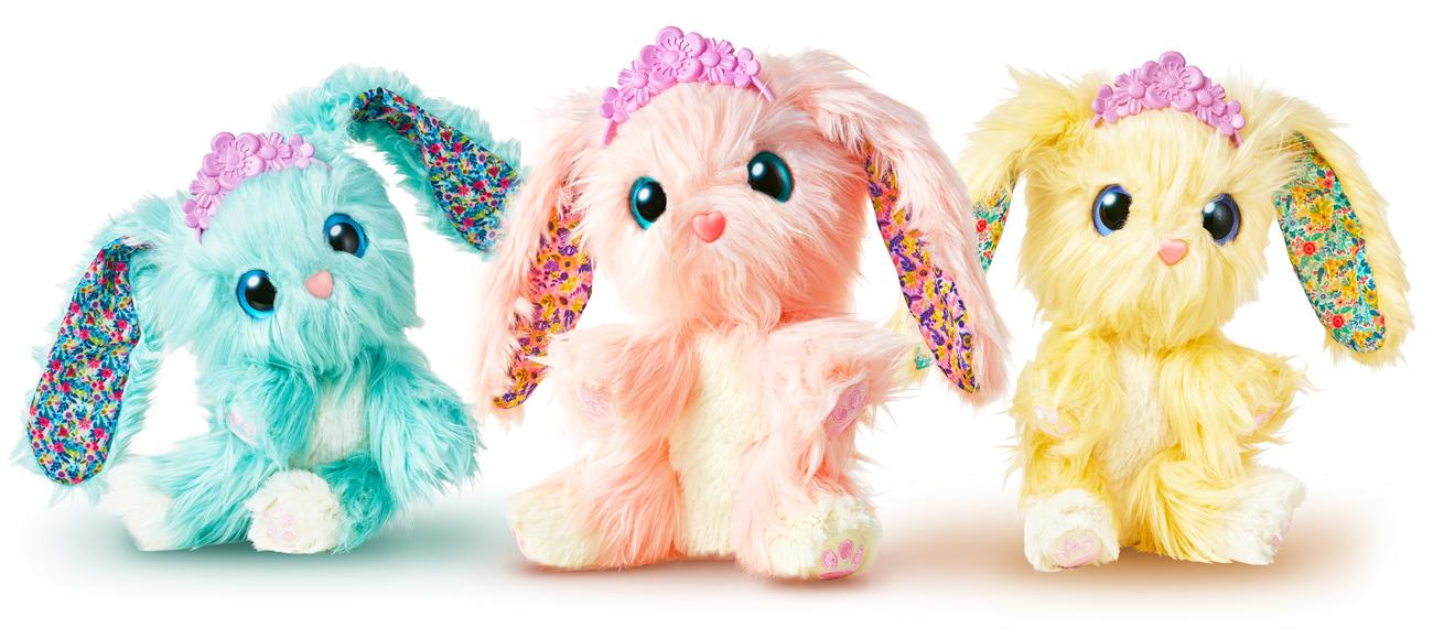 TM Toys Fur Balls Blossom Bunnies Zwierzątko niespodzianka