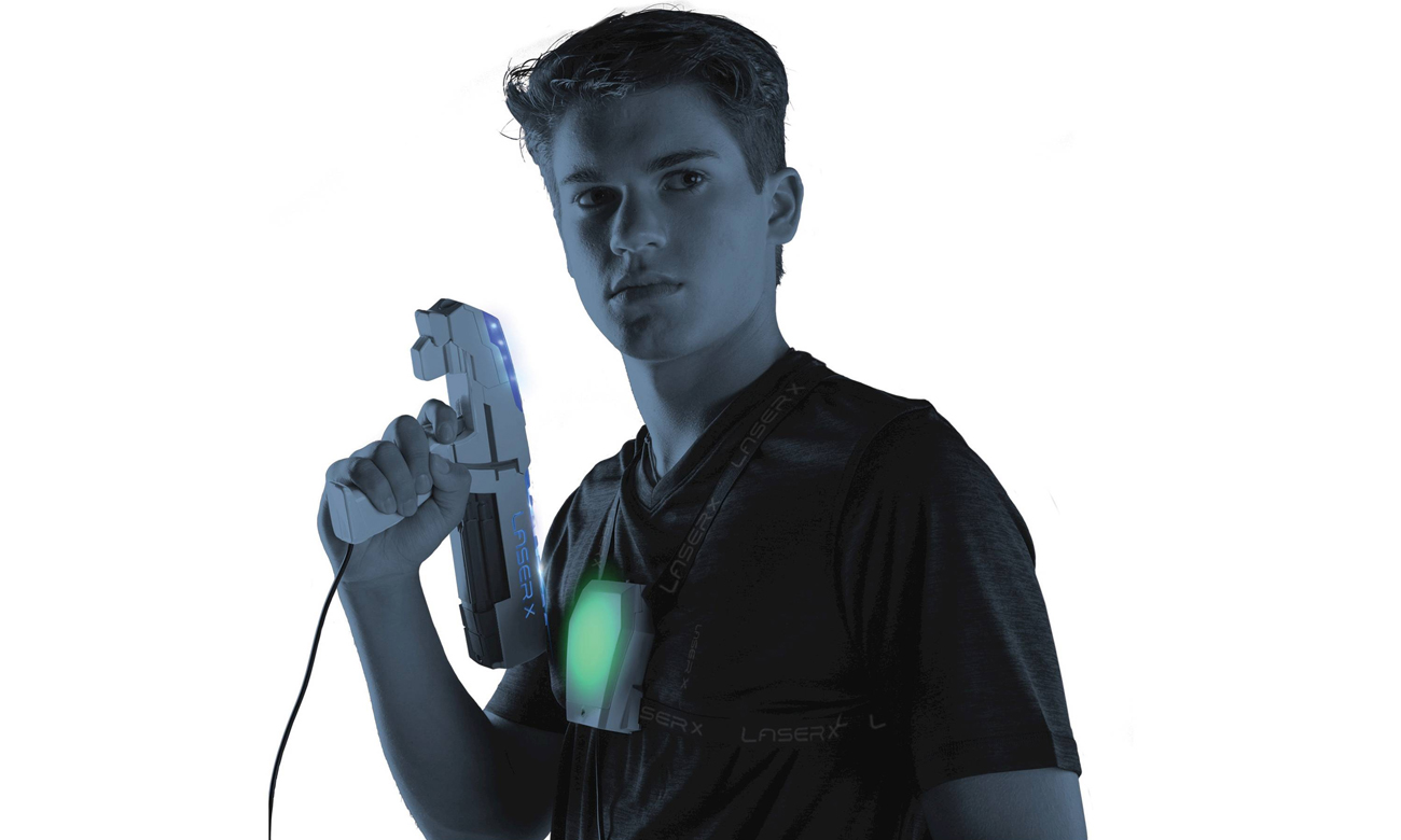 TM Toys LASER X Pistolet na podczerwień zestaw pojedyńczy