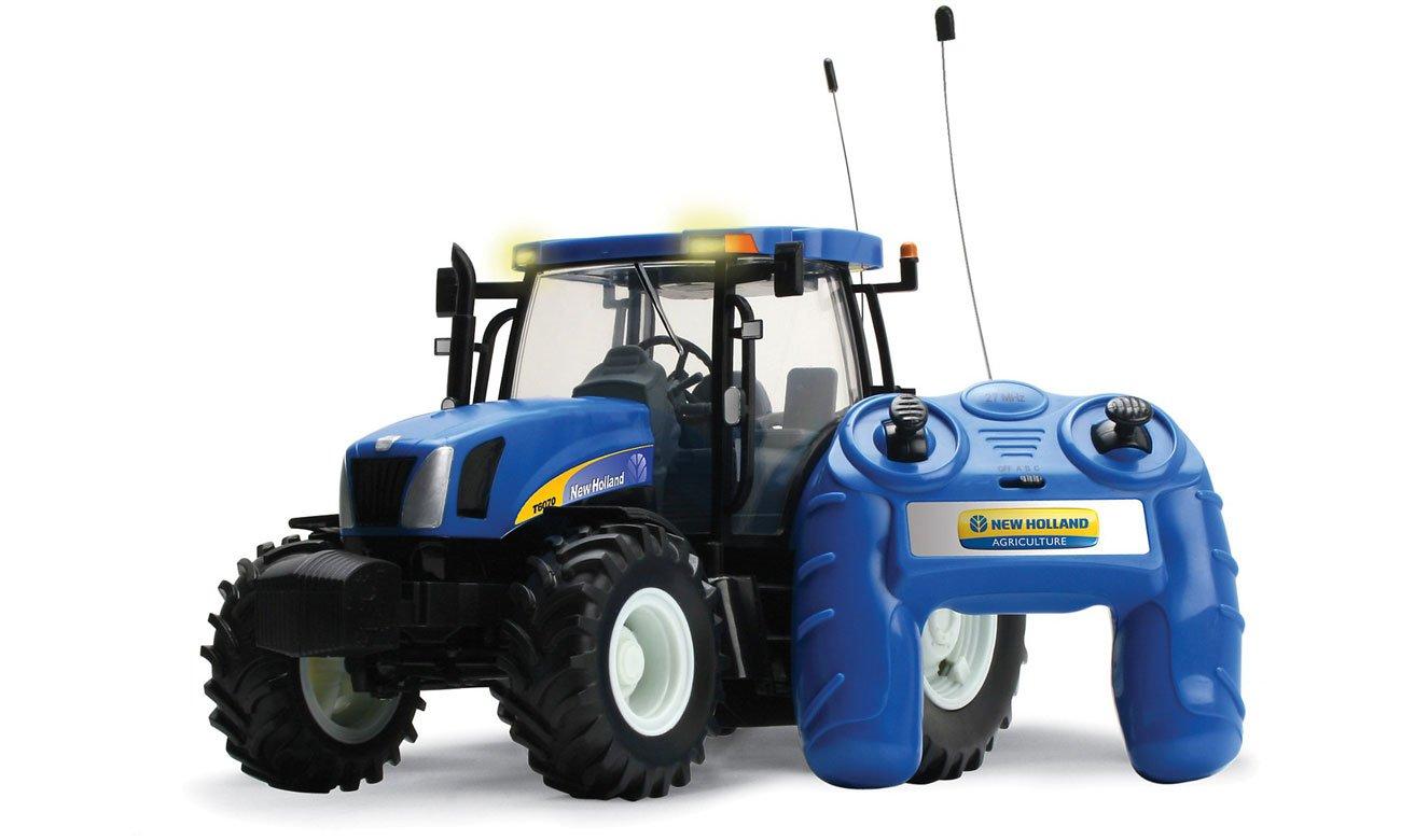 Traktor zdalnie sterowany Tomy Britains New Holland T6070