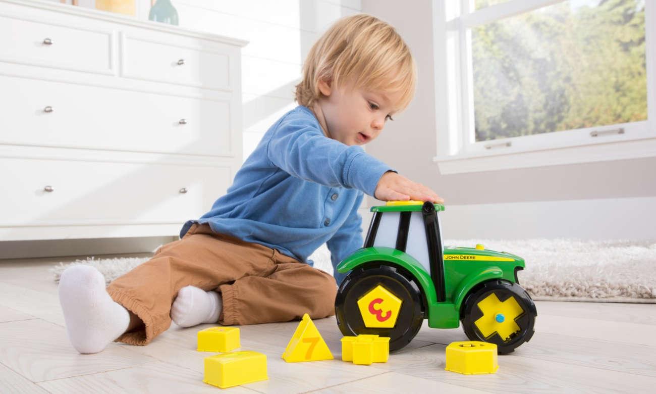 TOMY John Deere Ucz Się i Baw z Traktorem Johnny 46654