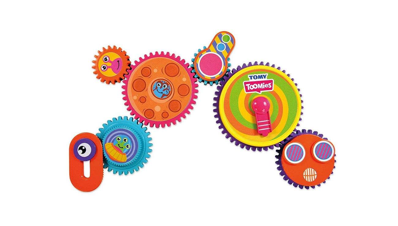 Zabawka edukacyjna TOMY Toomies magnetyczne zębatki E72759
