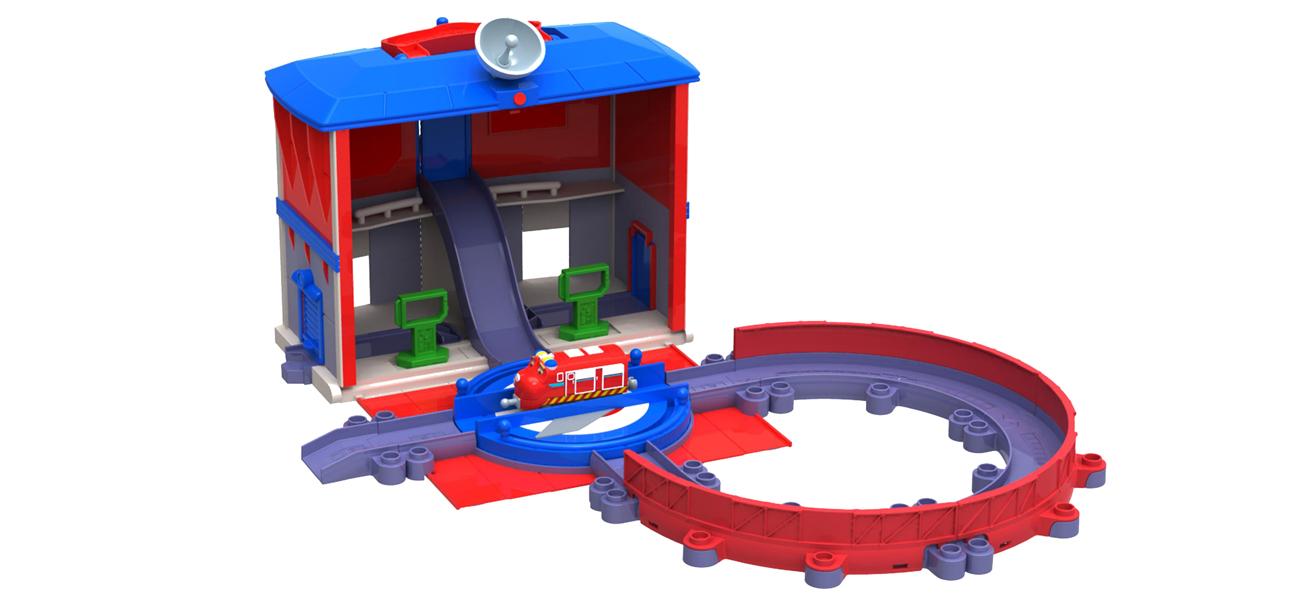 tomy centrum dowodzenia lokomotywa wilson