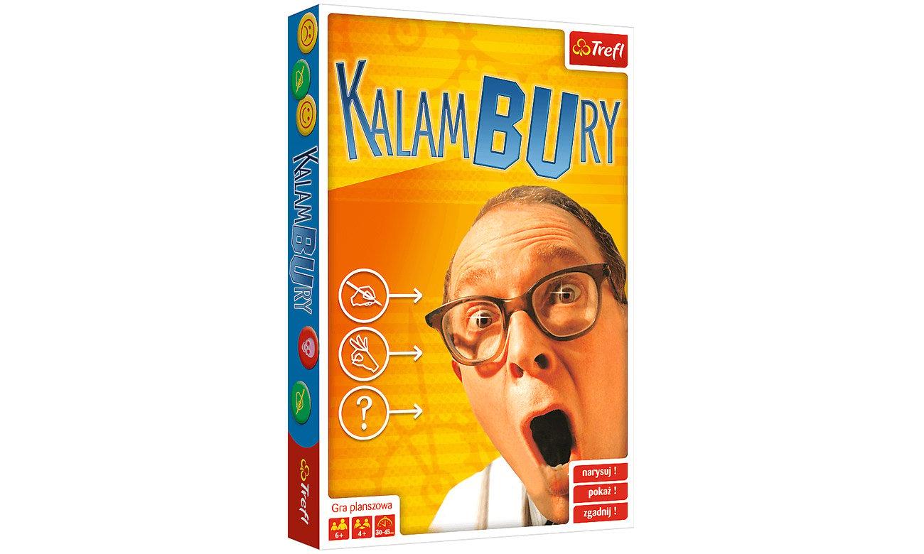 Gra dla małych dzieci Trefl Kalambury 00239
