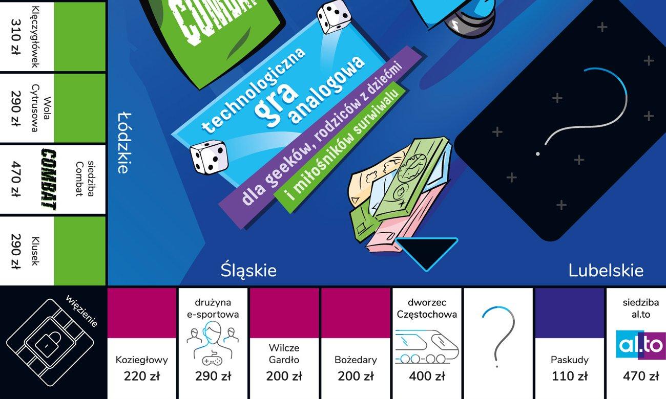 gra planszowa ekonomiczna xkom