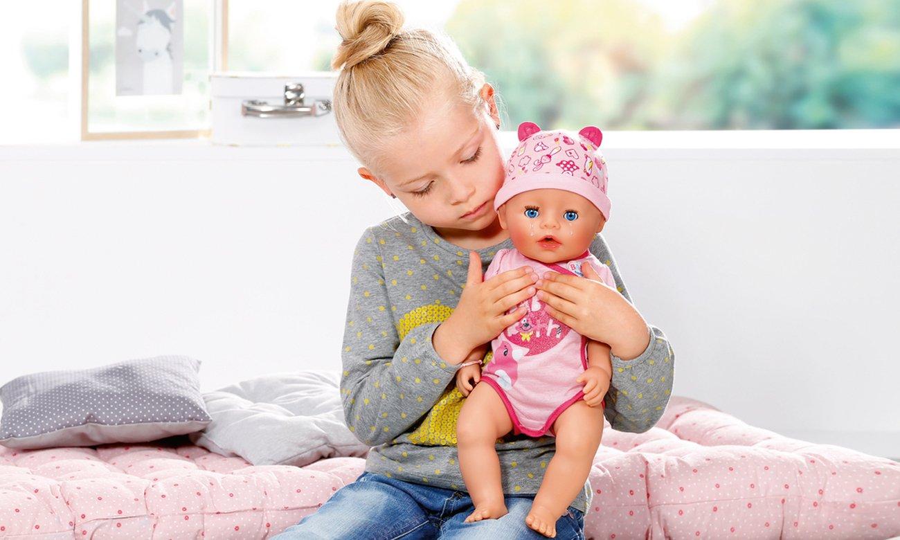 Zapf Baby Born Lalka interaktywna nowa