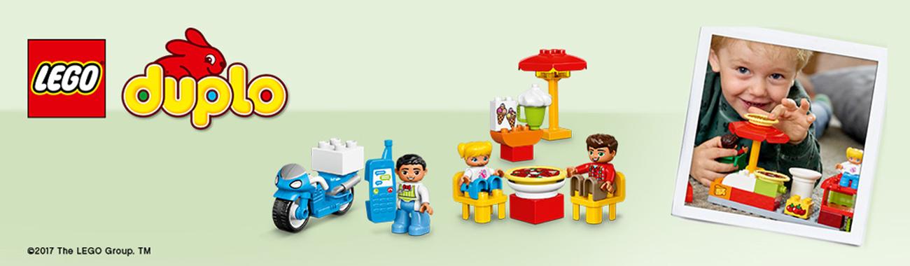 LEGO® DUPLO® zestaw klocków dla najmłodszych