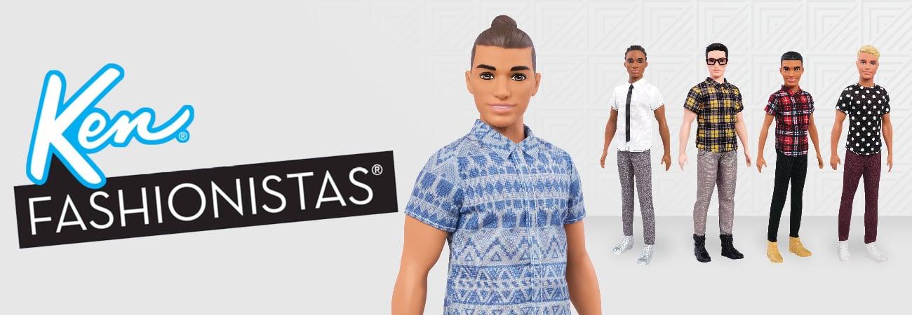 Ken Fashionistas lalki