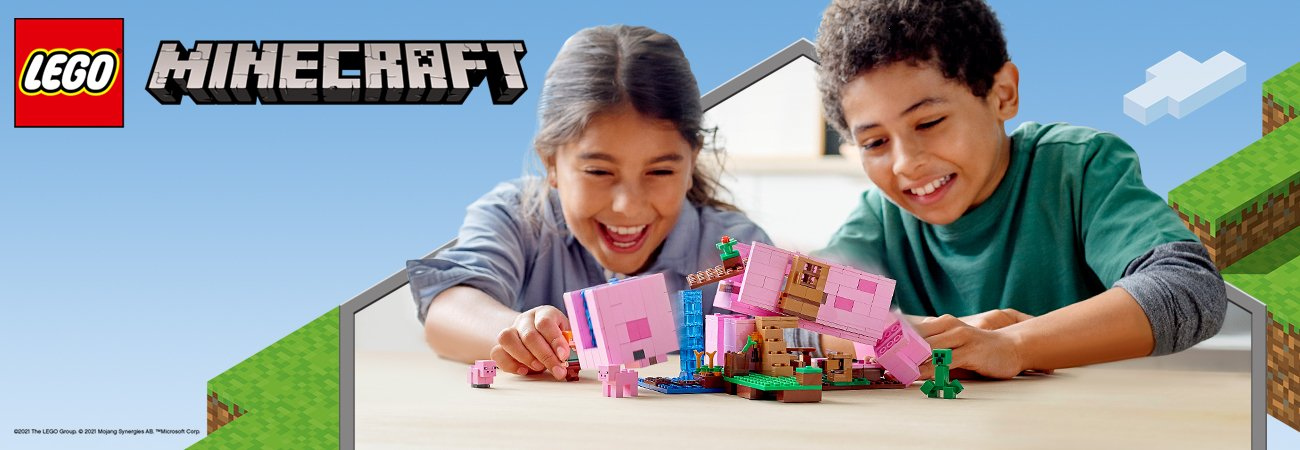 lego minecraft zestawy