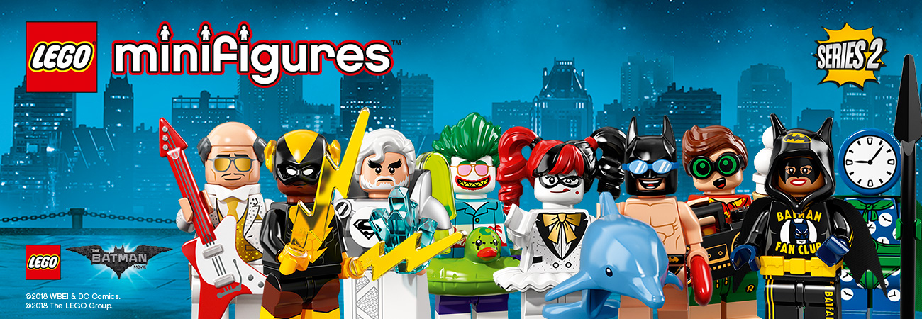 LEGO® minifigurki