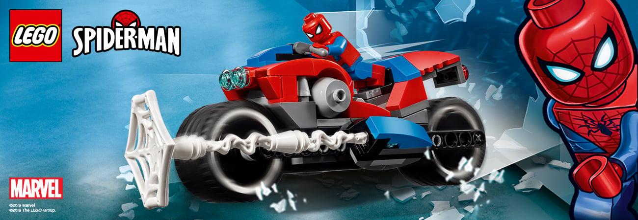 lego spiderman zestawy